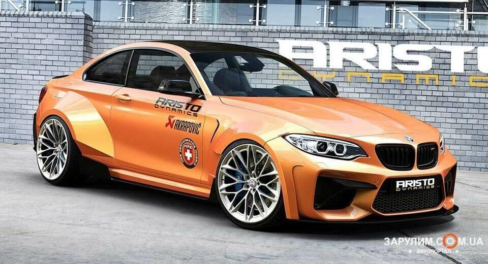 Обновленный внешний вид BMW M2 от Aristo Dynamics